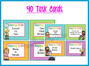 Coping Skills Task Cards