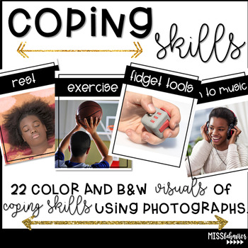 Coping Skills Visuals - Real Photographs
