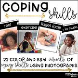 Coping Skills Visuals - Real Photographs