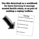 Coping Skills Workbook/Interactive Notebook