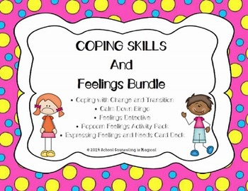 Coping Skills and Feelings Bundle: Save 30%