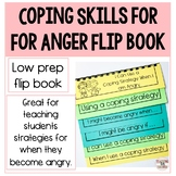 Coping Skills for Anger: Flip book (Distance Learning)