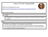 Coping Skills for Stress and Anxiety Trifold