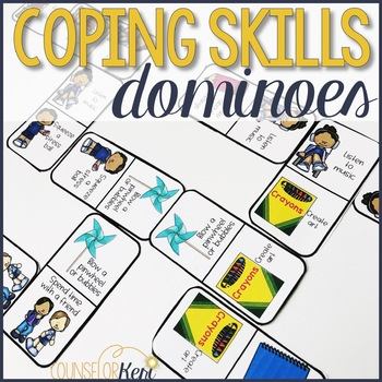 Coping Skills Domino Tiles: A Dominoes Game for Teaching Coping Skills