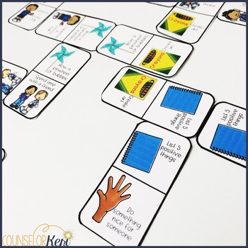 Coping Skills Dominoes: Coping Skills Counseling Game