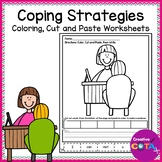 Self Regulation Coping Strategies Color Cut Paste and Write Worksheets