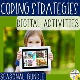 Coping Strategies Digital Activities SEASONAL BUNDLE