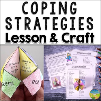 Coping Strategies Fortune Teller Craft