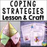 Coping Strategies Fortune Teller | SEL Skills Craft, Lesso