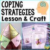 Coping Strategies Fortune Teller   SEL Skills Craft, Lesso