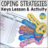 Coping Strategies Keys Craftivity