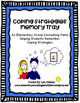 Coping Strategies Memory Tray