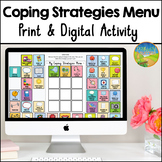 Coping Strategies Menu - Distance Learning - Google Classroom