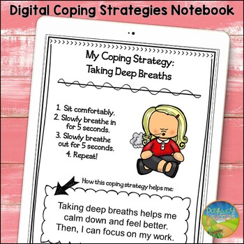 Coping Strategies Notebook - Distance Learning