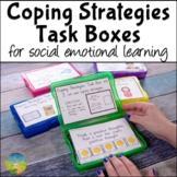 Coping Strategies & Skills Task Boxes | SEL Activities