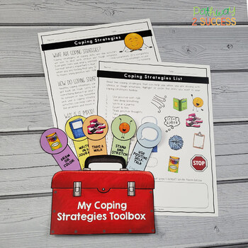 Coping Strategies Toolbox Lesson and Craft