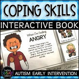 Coping Strategies for Emotions Interactive Book + B/W Version
