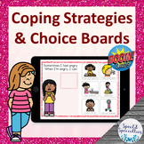 Coping Strategies for Self-Regulation BOOM Cards™ for Dist