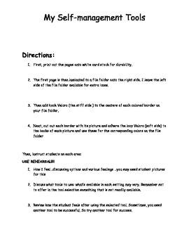 Student self -management tools
