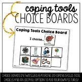 Coping Tools Choice Board - EDITABLE!