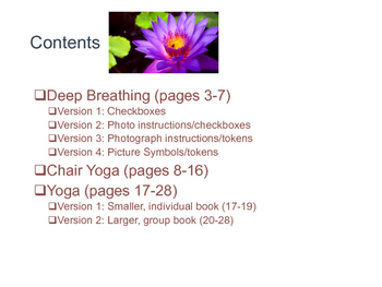 Coping and Calming Down - Deep Breathing and Yoga for Olde