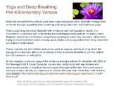 Deep Breathing and Yoga for Younger Children (Coping and S