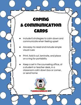 Coping and Communication Cards