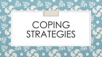 Coping Strategies Posters