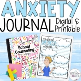 Coping with Anxiety Journal & Lap Book, In-Person & Digital Learning