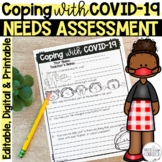 Coping with COVID-19 Needs Assessment, School Counseling I