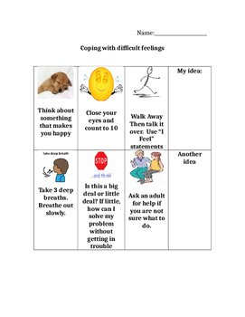 Coping with Difficult Feelings