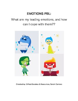 Coping with Leading Emotions - Inside Out Project