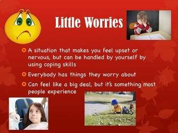 Coping with Little and Big Worries