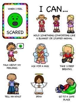 Social Emotional Coping Skills: Scared Feelings