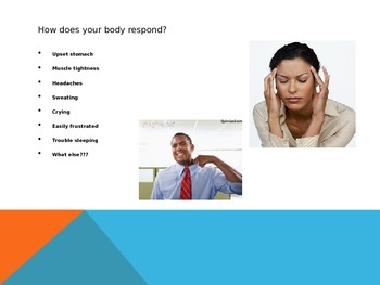 Coping with Stress Powerpoint lesson