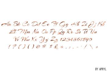 Copper Foil Alphabet Clip Art Metallic Look 81 PNG Images Letters Numbers