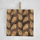 Copper Palm Leaves Paper