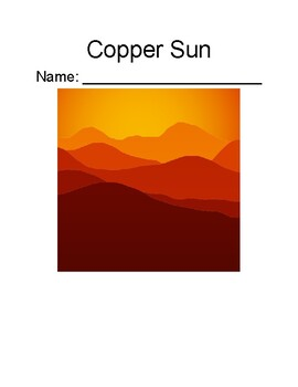 Copper Sun- Chapter-by-Chapter Comprehension Questions