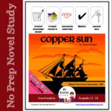 Copper Sun by Sharon Draper Literature Unit - Print + DIGITAL