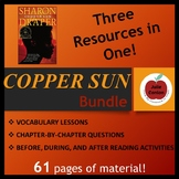 Copper Sun: Teaching Resources Bundle