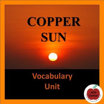 Copper Sun Vocabulary Unit