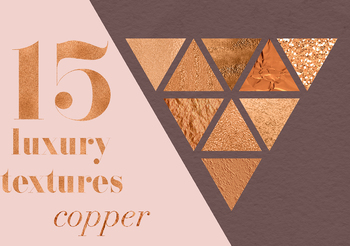 Copper Textures, Beautiful Copper Backgrounds