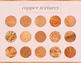 Copper Textures, Beautiful Copper Backgrounds, Copper Paper