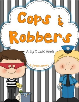 A Sight Word Game: Cops & Robbers