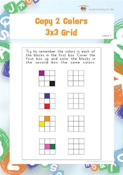 Copy 2 Colors 3x3 Grid