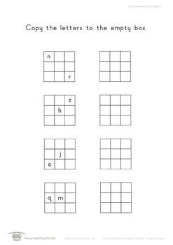 Copy Block Letters 3x3 (2 Letters)