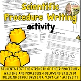 Procedure Writing Activity : Legos: for Science or any subject