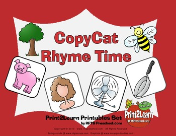 Copy Cat Rhyme Time