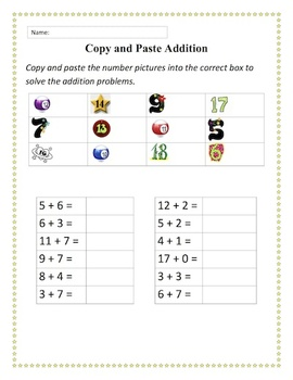 Copy, Cut and Paste Practice Activity Bundle (in Word)