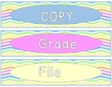Copy, File, Grade